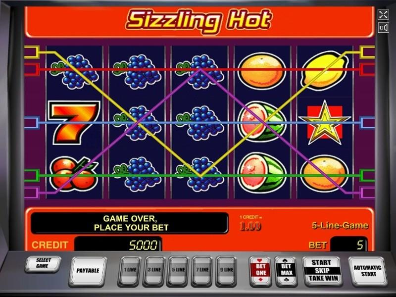 Sizzling Hot Slot Machine