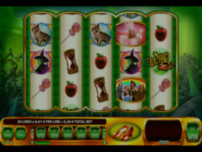 Wizard of Oz Ruby Slippers Slot Machine