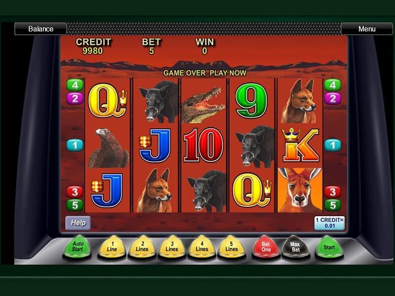 Big Red Slot Machine