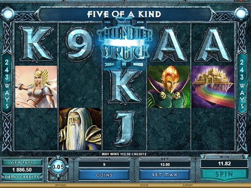 Thunderstruck Slot Machine