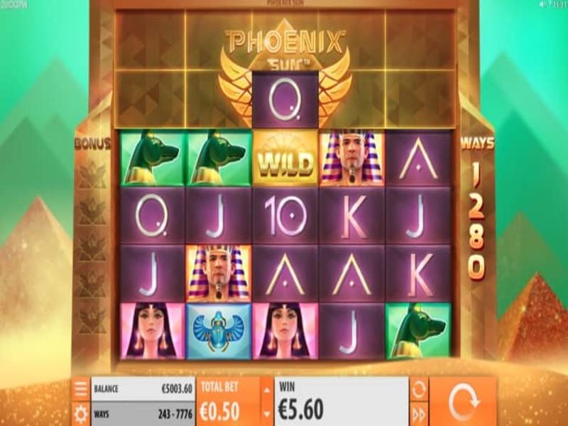 Phoenix Sun Slot Game