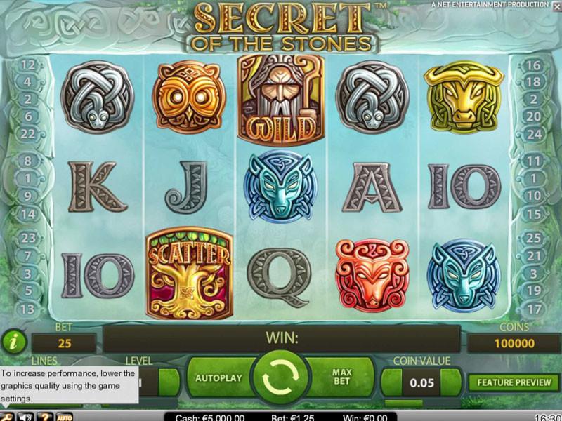 Secret of the Stones Slot Review