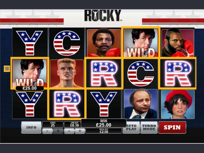 Rocky Slot Machine Free Play