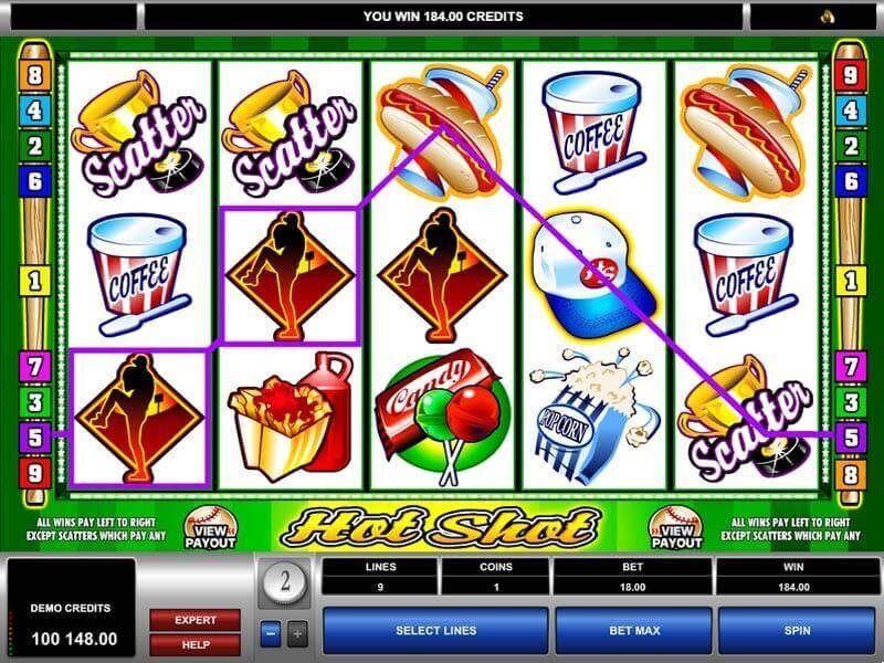 Hot Shot Casino Slot Game Free