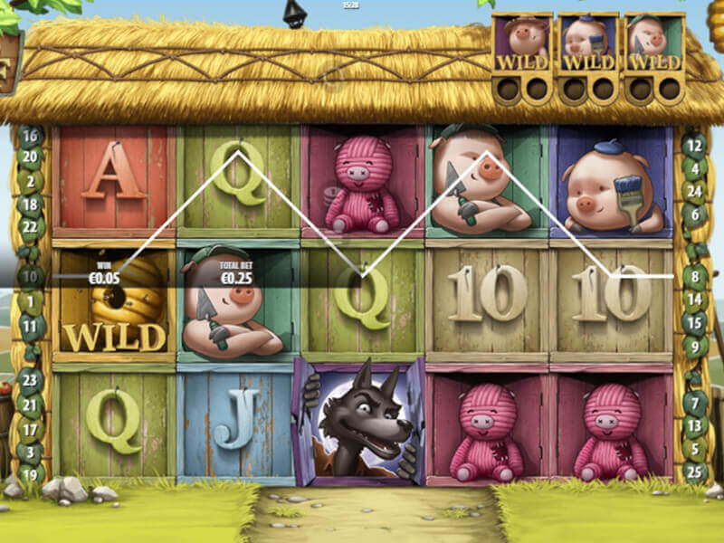 Big Bad Wolf Slot Game