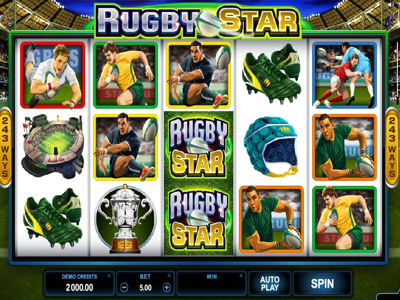 Rugby Star Slot Review